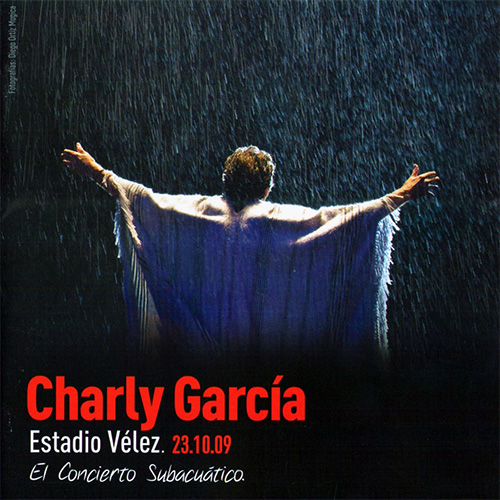 Tapa del CD EL CONCIERTO SUBACU�TICO (CD + DVD) - Charly Garc�a