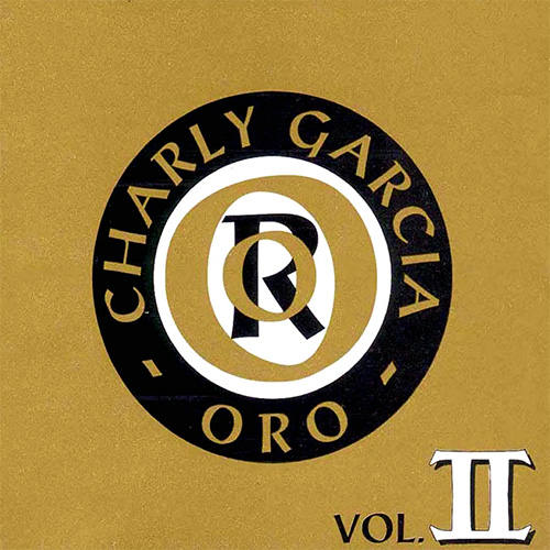 Tapa del CD ORO II - Charly Garc�a
