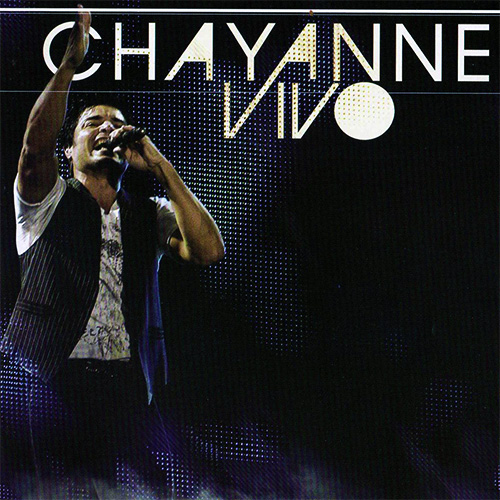 Tapa del CD CHAYANNE VIVO (CD + DVD)
