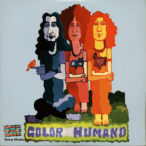 Tapa del CD COLOR HUMANO VOL. 1 - Color Humano