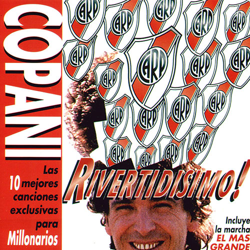 Tapa del CD RIVERTIDISIMO - Ignacio Copani