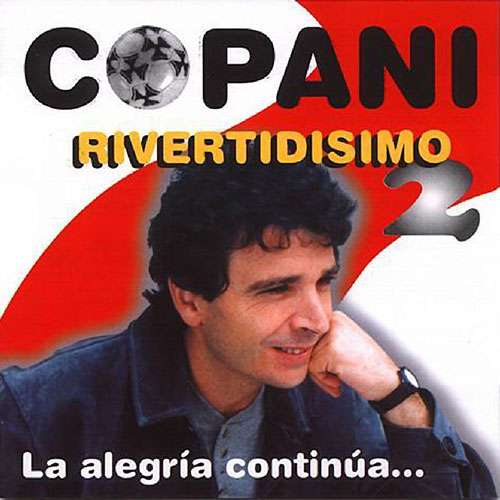 Tapa del CD RIVERTIDISIMO II - Ignacio Copani