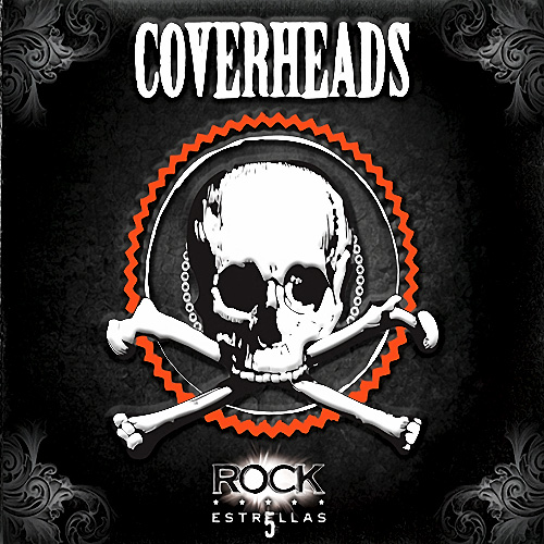 Tapa del CD ROCK CINCO ESTRELLAS - Coverheads
