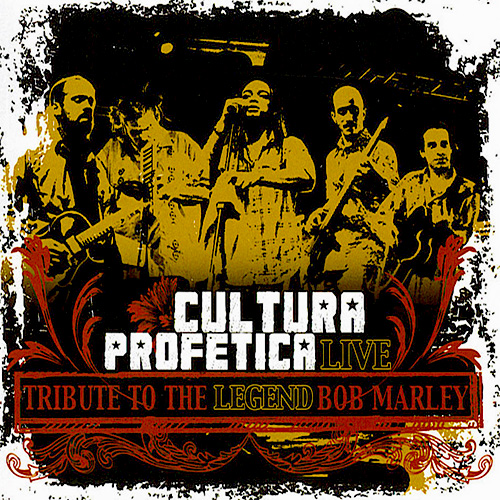 Tapa del CD TRIBUTE TO THE LEGEND BOB MARLEY - Cultura Prof�tica