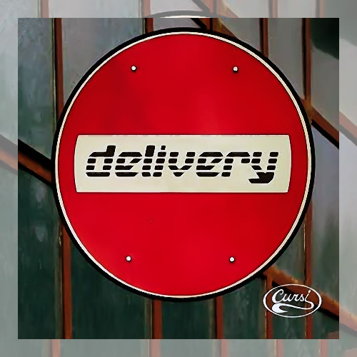 Tapa del CD DELIVERY - Cursi