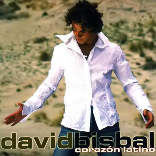 Tapa del CD CORAZ�N LATINO - David Bisbal