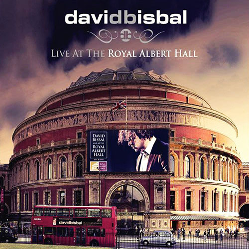Tapa del CD LIVE AT THE ROYAL ALBERT HALL (CD) - David Bisbal