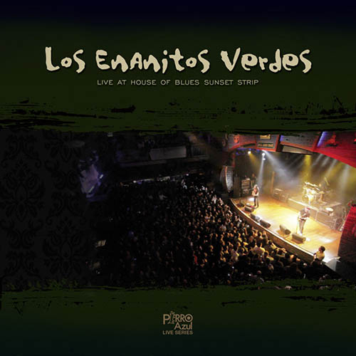 Tapa del CD LIVE AT HOUSE OF BLUES SUNSET STRIP - Los Enanitos Verdes