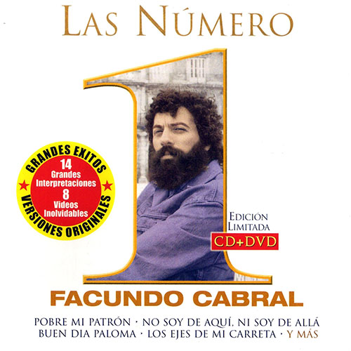 Facundo Cabral - LAS N�MERO 1 (CD + DVD)