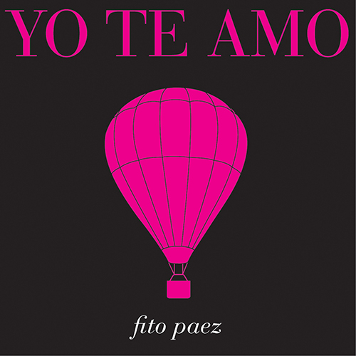 Tapa del CD YO TE AMO - SINGLE - Fito P�ez