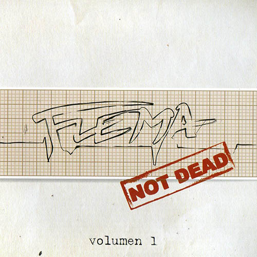 Tapa del CD FLEMA NOT DEAD - VOL I