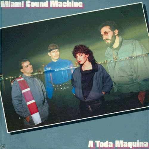 Tapa del CD MIAMI SOUND MACHINE - A TODA MAQUINA - Gloria Estefan