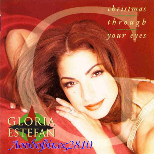 Tapa del CD CHRISTMAS THROUGH YOUR EYES - Gloria Estefan