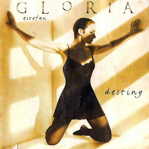 Tapa del CD DESTINY - Gloria Estefan
