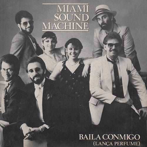 Tapa del CD LO MEJOR DE MIAMI SOUND MACHINE - Gloria Estefan