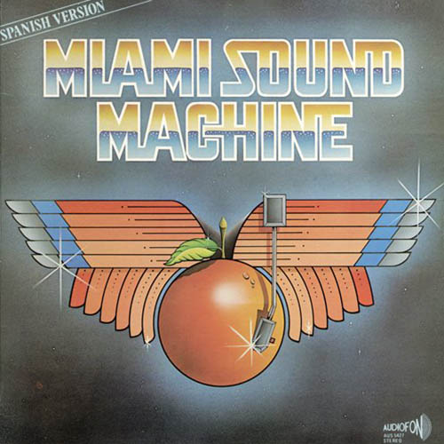 Tapa del CD MIAMI SOUND MACHINE - SPANISH - Gloria Estefan