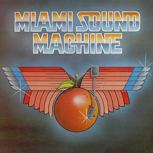 Tapa del CD MIAMI SOUND MACHINE - ENGLISH AND SPANISH - Gloria Estefan