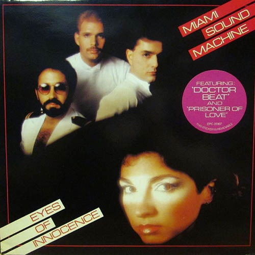 Tapa del CD MIAMI SOUND MACHINE - EYES OF INNOCENCE