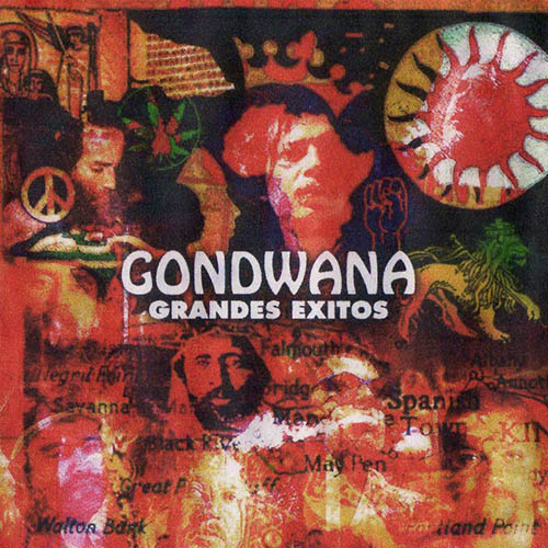Tapa del CD GRANDES EXITOS CD 2 - Gondwana