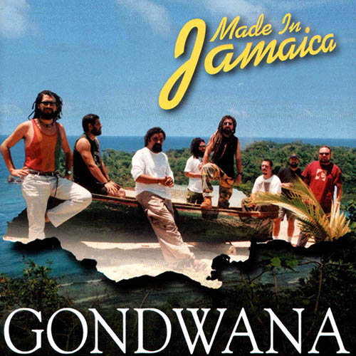 Tapa del CD MADE IN JAMAICA - Gondwana