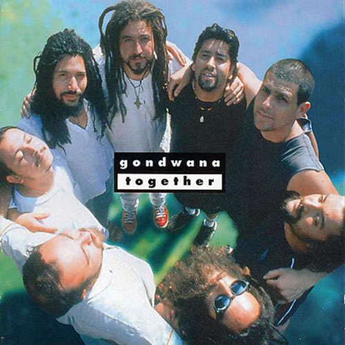 Tapa del CD TOGETHER - Gondwana