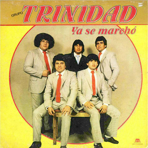 Tapa del CD YA SE MARCH� - Grupo Trinidad