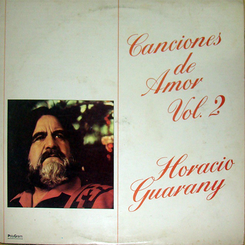 Tapa del CD CANCIONES DE AMOR II - Horacio Guarany