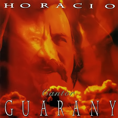 Tapa del CD CANTOR - Horacio Guarany