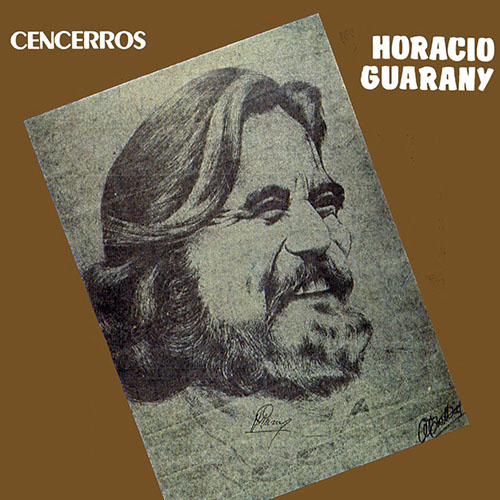 Tapa del CD CENCERROS - Horacio Guarany