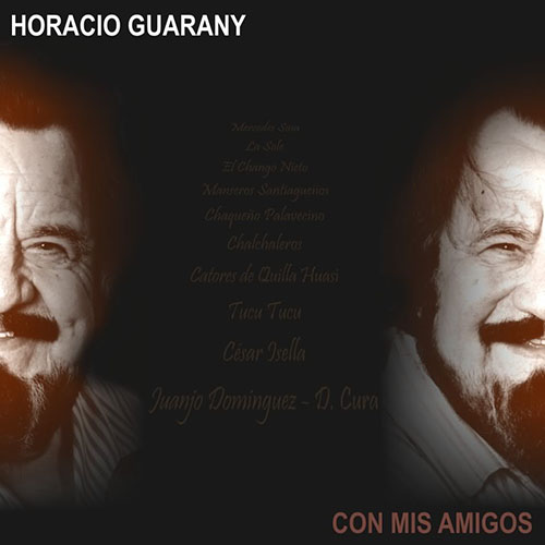 Tapa del CD CON MIS AMIGOS - Horacio Guarany