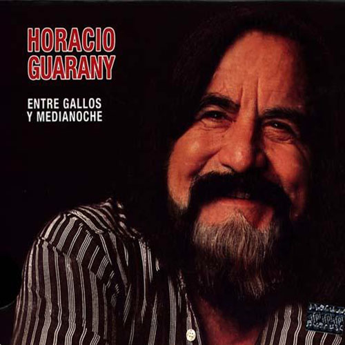 Tapa del CD ENTRE GALLOS Y MEDIANOCHE - Horacio Guarany