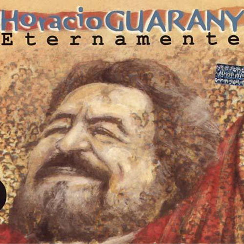 Tapa del CD ETERNAMENTE - Horacio Guarany