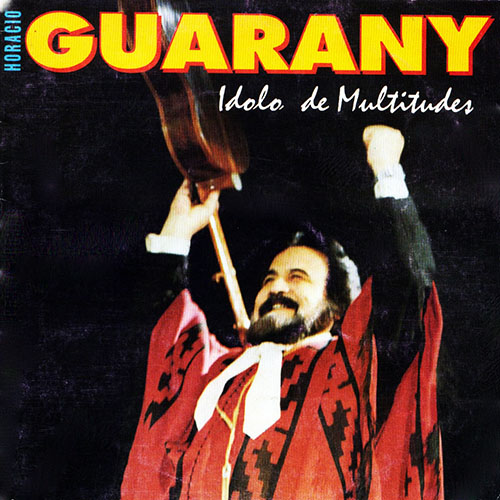 Tapa del CD IDOLO DE MULTITUDES - Horacio Guarany