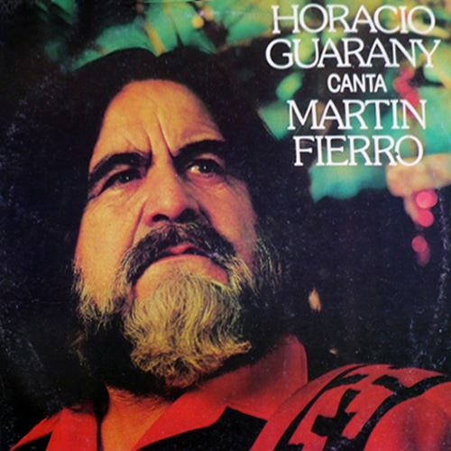 Tapa del CD CANTA MARTIN FIERRO - Horacio Guarany