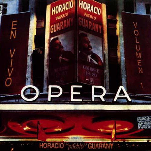 Tapa del CD EN VIVO EN EL OPERA - Horacio Guarany