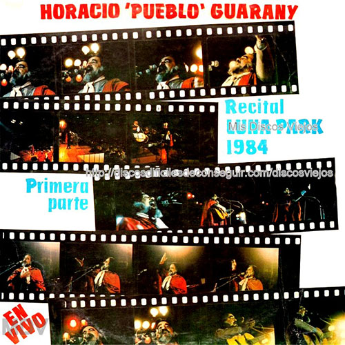 Tapa del CD LUNA PARK PARTE 1 - Horacio Guarany