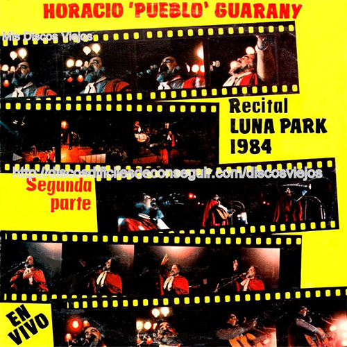 Tapa del CD LUNA PARK PARTE 2 - Horacio Guarany