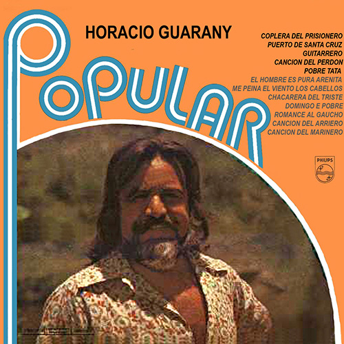 Tapa del CD POPULAR - Horacio Guarany
