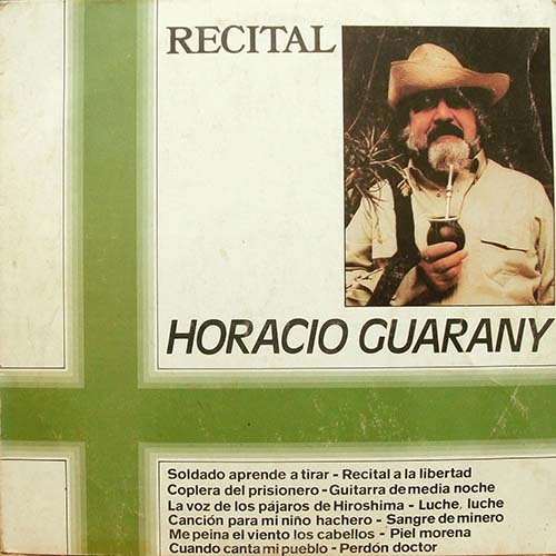 Tapa del CD RECITAL