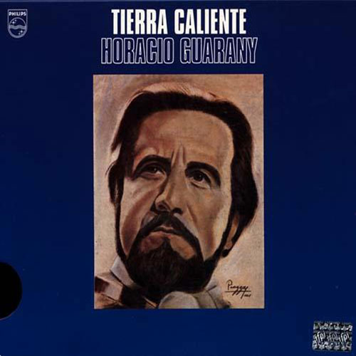 Tapa del CD TIERRA CALIENTE A Serapio Guantay - Horacio Guarany