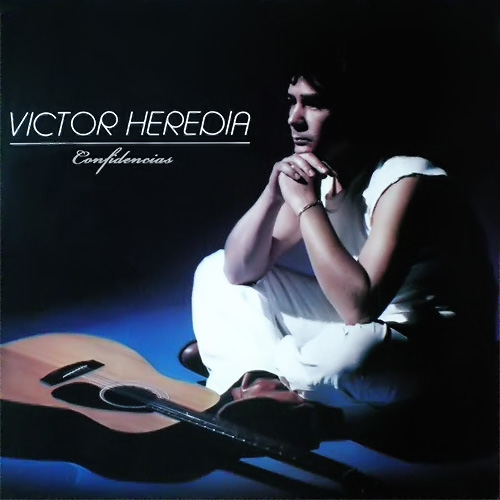 Tapa del CD CONFIDENCIAS - Victor Heredia