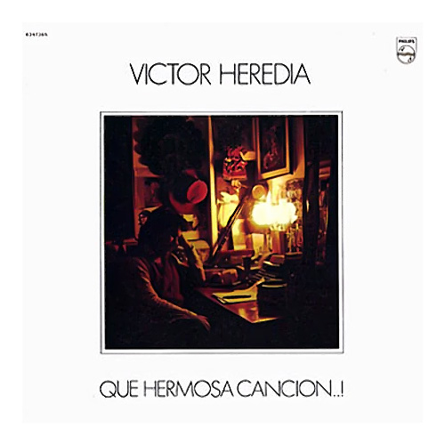 Tapa del CD QUE HERMOSA CANCI�N - Victor Heredia