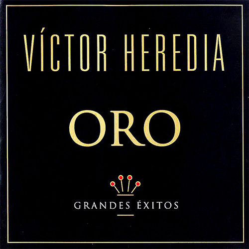 Tapa del CD ORO - Victor Heredia