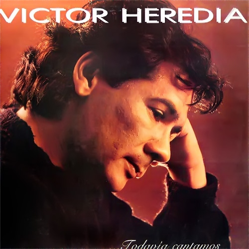 Tapa del CD TODAVIA CANTAMOS - Victor Heredia