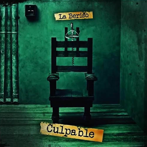 Tapa del CD CULPABLE - La Beriso
