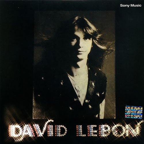 Tapa del CD DAVID LEBON