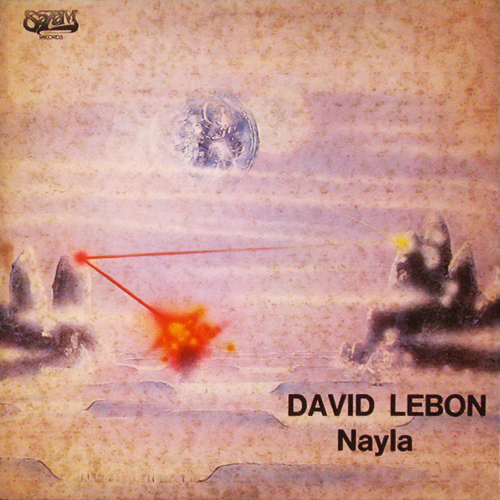 Tapa del CD NAYLA - David Leb�n