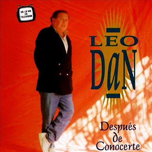Tapa del CD DESPU�S DE CONOCERTE - Leo Dan