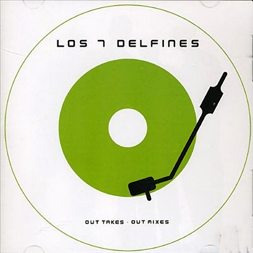Tapa del CD AVENTURA OUT MIXES & OUT TAKES - Los 7 Delfines