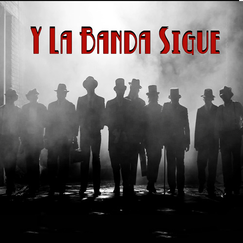 Tapa del CD Y LA BANDA SIGUE - SINGLE - Los Aut�nticos Decadentes